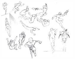 Action Poses 4 Leaping Diving By Shinsengumi77 Drawing Poses Figure Drawing Poses Manga Poses