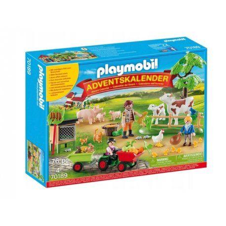 Playmobil 70189 Kalendarz Adwentowy Gospodarstwo Rolne Playmobil Advent Calendar Farm Scene