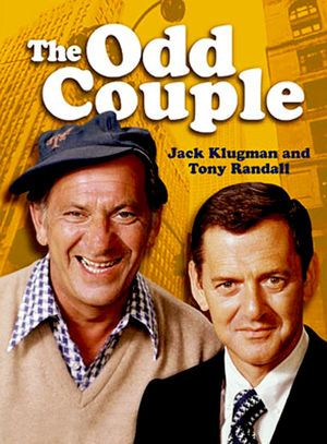 The Odd Couple, starring Jack Klugman and Tony Randall, TV series, Tv Sendungen, Ed Vedder, Nostalgia, Vintage Television, Television Tv, Odd Couples, Old Shows, Tv Land, Comedy Tv