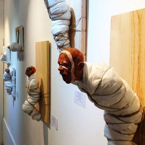 Les sculptures tourmentées de Miguel Ángel Vigo Baleirón