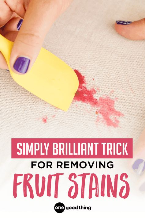 How To Remove Fruit Stains From Your Clothing Fun To Be One