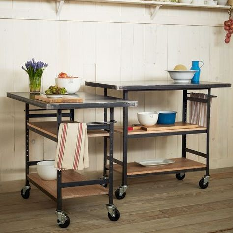 Design Workshop Metal Top Bar + Counter | west elm