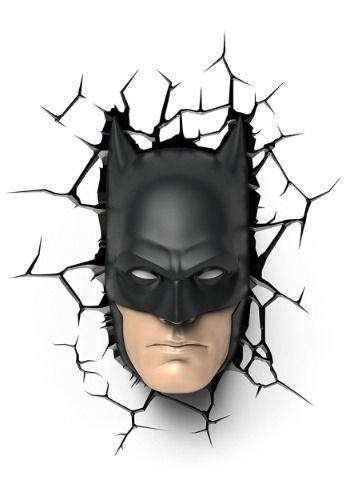 Batman Mask 3D Wall Light Mask ecf0bd619d5