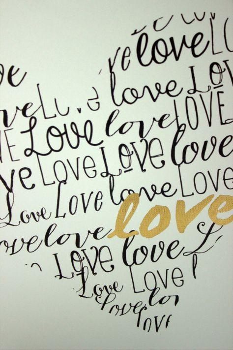 Love wall decor from @marshalls