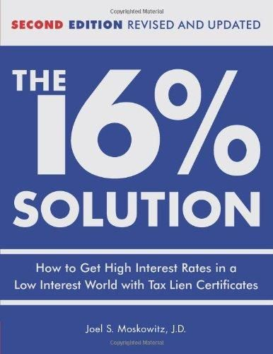 How To Make Money Buying Tax Lien Certificates