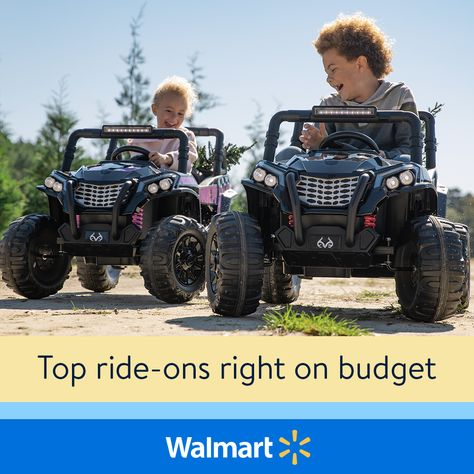 Save on top ride-ons
