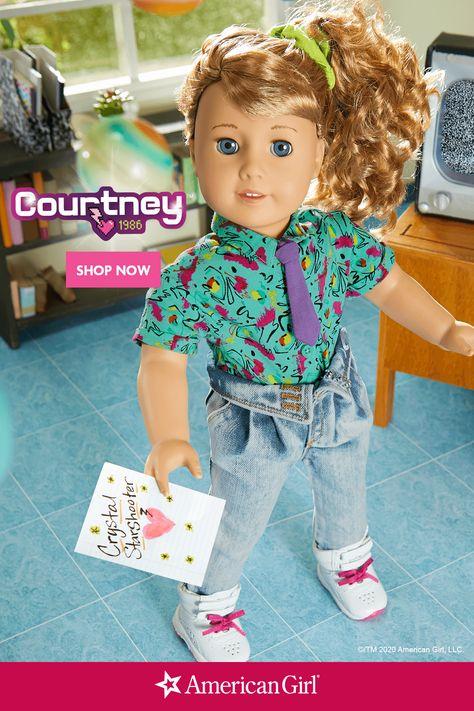 All American Girl Dolls, American Girl Clothes, Girl Doll Clothes, Doll Clothes Patterns, America Girl, Diy Doll, Toys For Girls, Beautiful Dolls, School Style