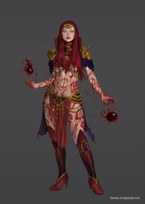Female Mage Art