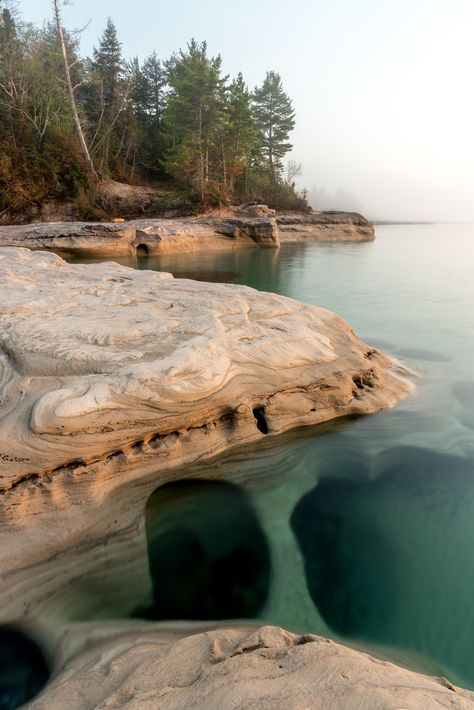 Pictured Rocks National Lakeshore, MI × IG: - Faszination- wonderful world - Nature Vacation Places, Vacation Spots, Places To Travel, Places To See, Travel Destinations, Italy Vacation, Michigan Vacations, Michigan Travel, Michigan Usa