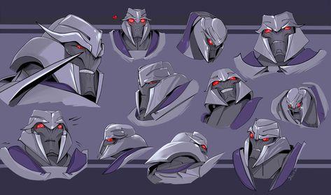 Megatron. Transformers Prime by Shamba999 on DeviantArt