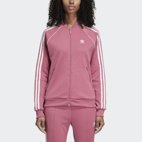 Women's adidas Superstar Track Pants Trace Maroon DH3177 for