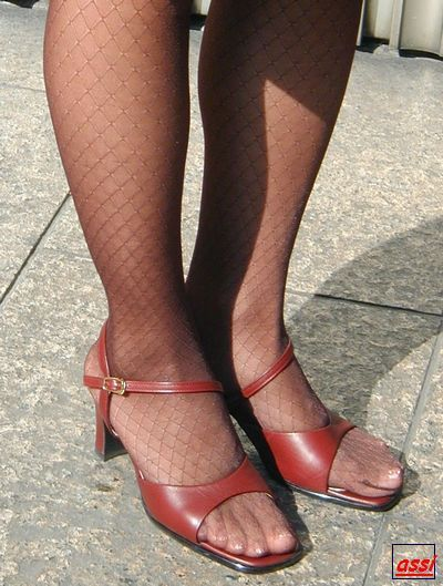 sexy strumpfhose sandalen