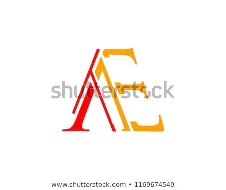 Find Ae Letter Logo Design Template Vector Stock Vectors And