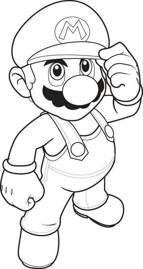 Top 20 Free Printable Super Mario Coloring Pages Online Mario Coloring  Pages, Super Mario Coloring Pages, Cartoon Coloring Pages