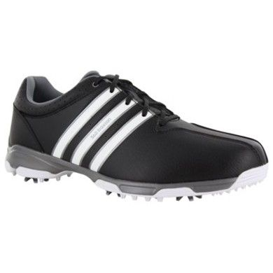 Adipower Boost 3, Chaussures de Golf Homme, Noir (Core Black/White/Silver Metallic), 41 1/3 EUadidas