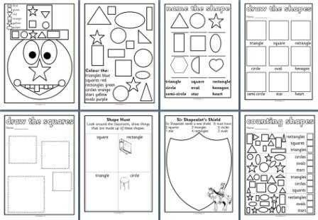 51 Maths Shapes Worksheets Ks1 Shapes Worksheets Math Geometry Math