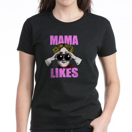 MAMA LIKES T Shirt  #mamalikes #mama #funny #humor #cougar #shirts #women