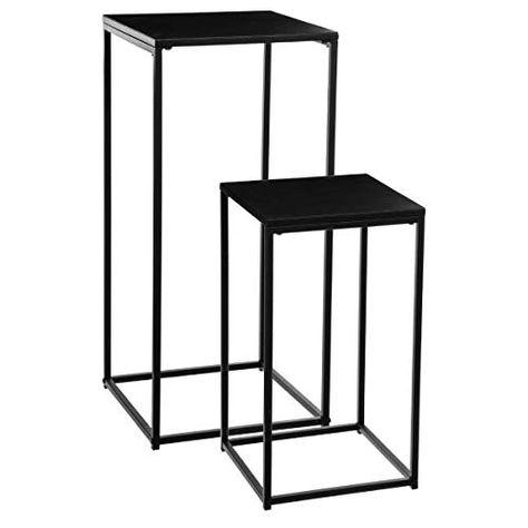 Atmosphera Lot De 2 Sellettes Tables D Appoint En Metal Https