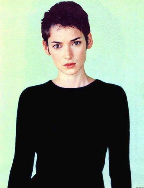 Winona Ryder's signature - her pixie cut