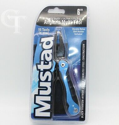 Ultra-Utility 6/' Angler/'s Multi-Tool Mustad Heavy Duty