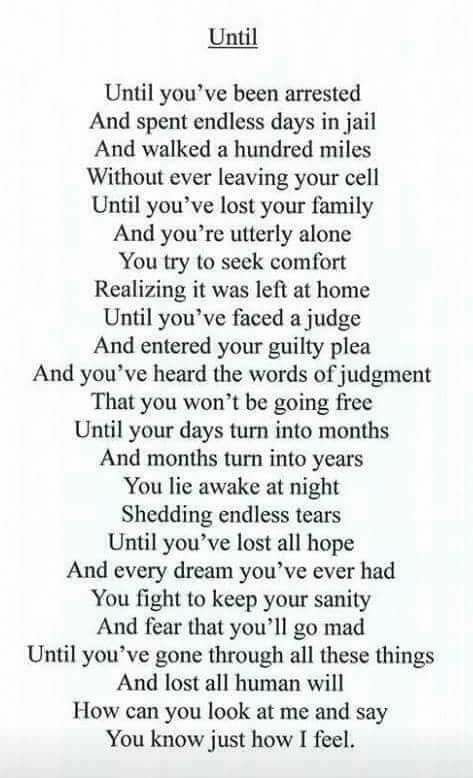 I Miss You Poems For Boyfriend In Jail : poems, boyfriend, Forgive, Prison, Quotes,, Inmate, Quote