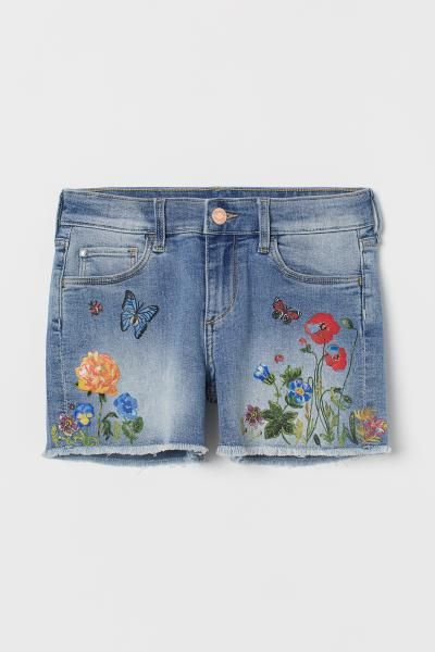 Kidscool Baby /& Little Boys//Girls Elastic Waist Ripped Denim Pants Jeans