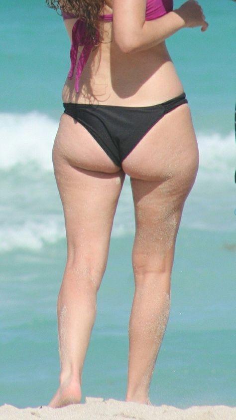 sexy Beach Babe Bikini Mature #2...