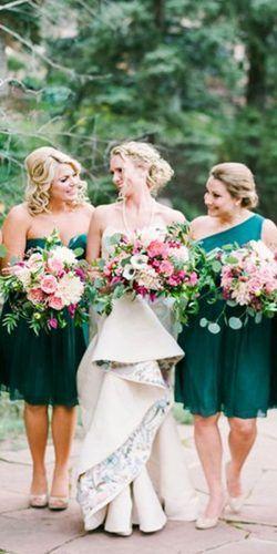 15 Graceful And Fresh Green Bridesmaid Dresses Green Bridesmaid