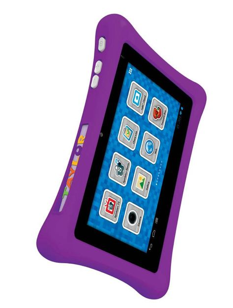Purple Bumper. A great look for the nabi 2 #tablet. Customize the #nabi 2 tablet with your child's favorite color bumper! Available at the nabi #Shop!