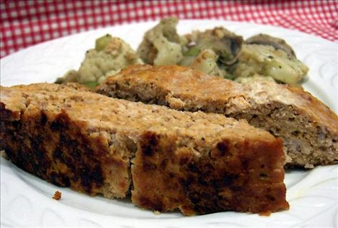 Unbelievable Chicken Meatloaf... Just made this. Super healthy and tasty way to use ground chicken. Makes more like 4 servings. I replaced the carrot with red pepper and also added fresh basil and rosemary.