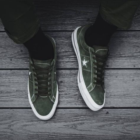 Nwt Converse One Star Pro Ox Leather