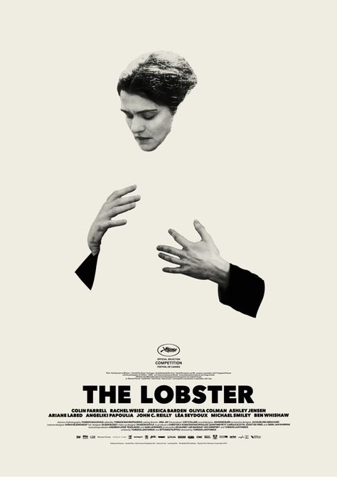 Creative Review - Consider the Lobster: great posters from Vasilis Marmatakis