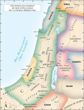 Naciones Que Habían De Ser Expulsadas Cananeos Tribu De Judá Biblia