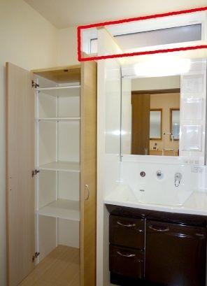 happy マイホーム 洗面所窓3 インテリア 家具 照明 デザイン 建築照明デザイン