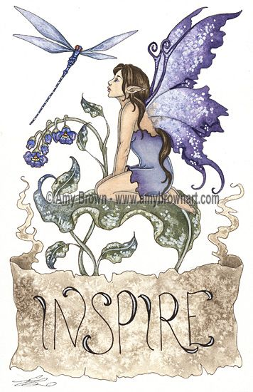 PRINTS-OPEN EDITION - Inspiration - Amy Brown Fairy Art - The Official Gallery