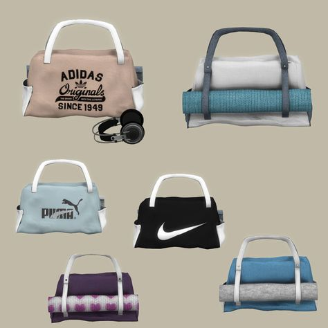 Sims 4 CC's – The Best: Decor Gym Bag and Headphones by Leo Sims Sims 4 CC's – The Best: sac de sport et écouteurs [. Sims Mods, Sims 4 Pets, Muebles Sims 4 Cc, Sims 4 Bedroom, Casas The Sims 4, Sims 4 Clutter, Sims 4 Toddler, Sims Baby, Sims4 Clothes