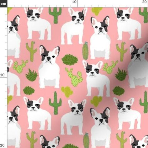 French Bulldog Icon Illustrations Illustration France,Ladies Full Zip Fleece with Pocket Heart Shape S