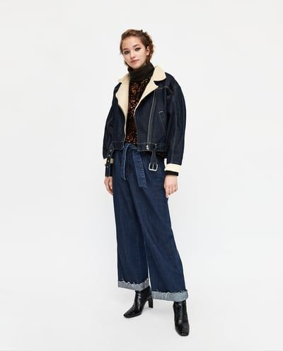 6ae88c54f1 HIGH WAIST PAPERBAG JEANS-TROUSERS-TRF-SALE | ZARA United States ...