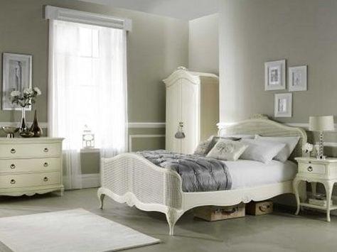 Grayish Walls Ivory Bedroom Set French Furniture Bedroom Bed Furniture Bedroom Sets Queen