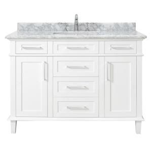 Home Decorators Collection Sonoma 48 In W X 22 In D Vanity In