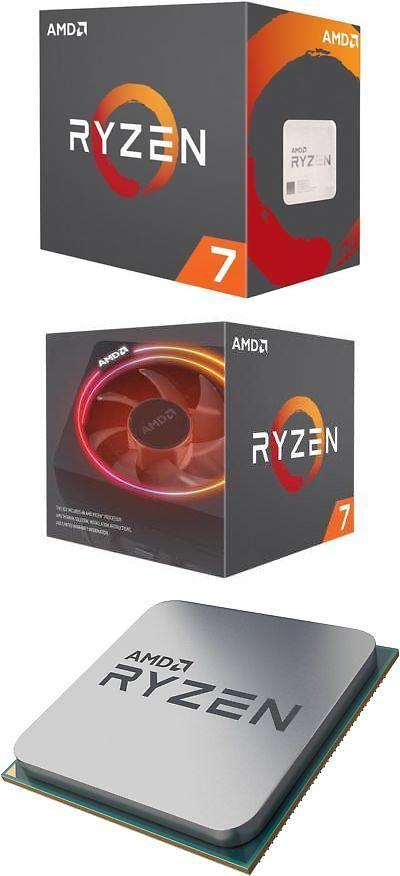 New Amd Ryzen 7 2700x 8 Core 3 7 Ghz Socket Am4 105w Yd270xbgafbox Processor Processor Amd Computer Components