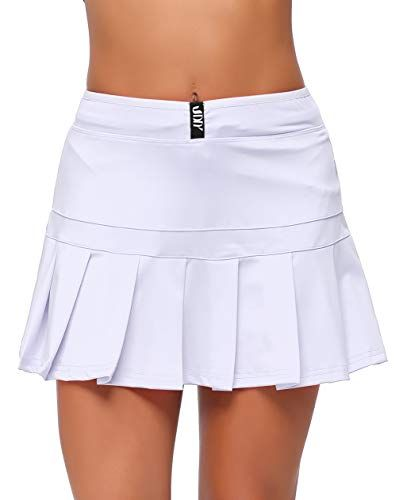 UDIY Women Active Skort with Pocket | Womens Golf Outfits | Ladies Golf |  Womens Golf Pants |... | Golf skirts, Womens golf fashion, Golf shorts women