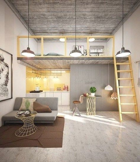 15 Loft Room Ideas That Will Give You Extra Floor Space 2020 Ver Archiparti International Limited In 2020 Interior Design Living Room Small Tiny House Design Small House Design
