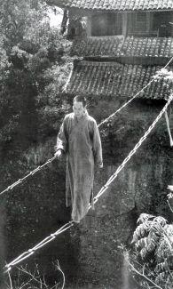 1930s: Chain bridge, China