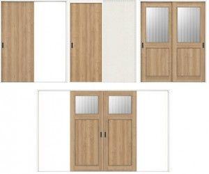 室内引き戸の種類と特徴 デザイン性も操作性もアップ 内装建材 All
