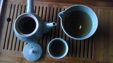 """""""Tea is drunk to forget the din of the world."""" - T'ien Yiheng. Pic: Lazyliteratus"""