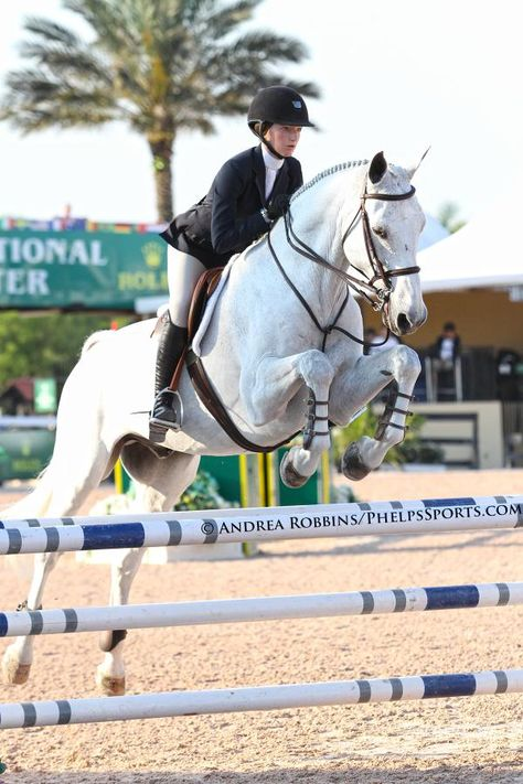 Lucy Deslauriers and Class Action, winners of 2015 George Morris Excellence in Equitation class