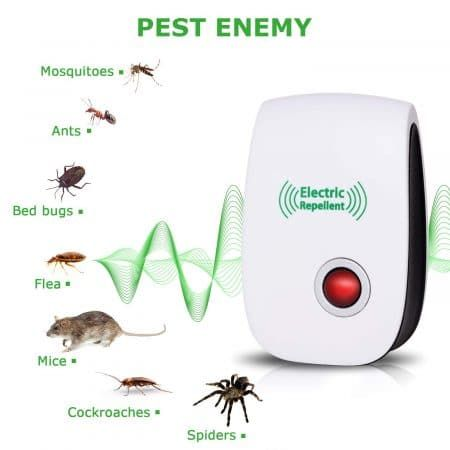 Vepower 6 Packs Ultrasonic Repellent 2019 Newest Pest Control Pests Insect Control