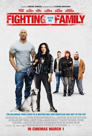 Fighting With My Family Vue Cinema Dvd Release Dwayne Johnson