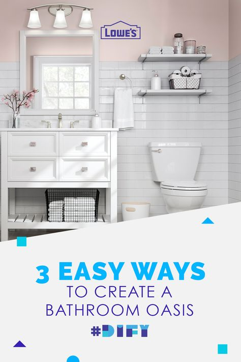 Create your dream bathroom with fresh fixtures, vanities and accessories from Lowe's.